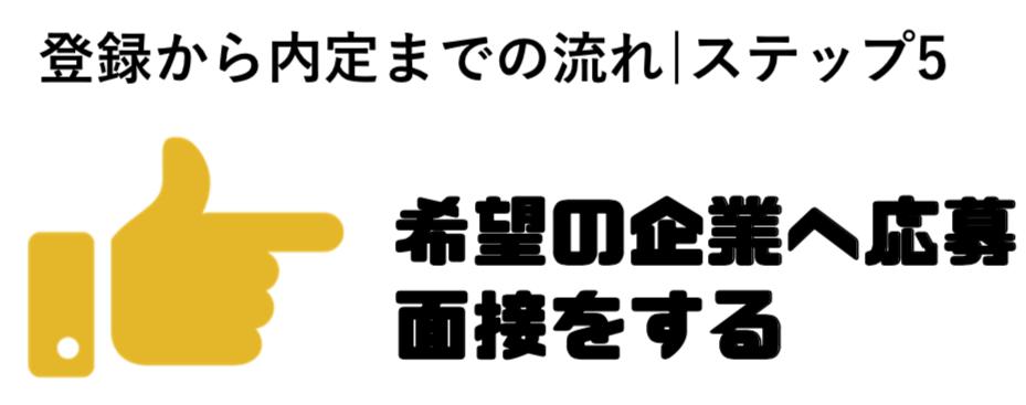 転職エージェント_応募