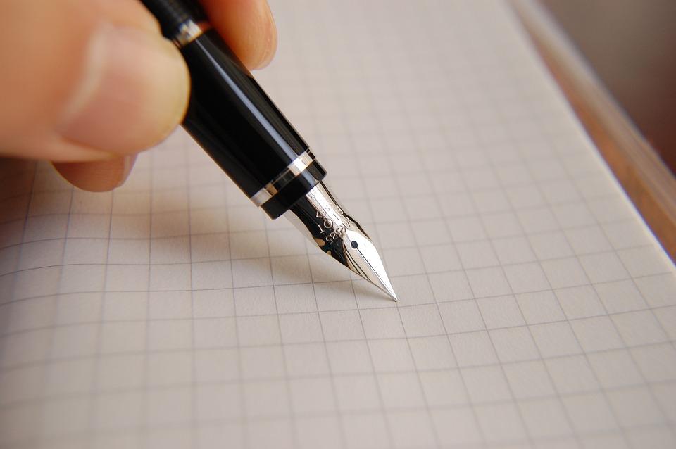 手紙の書き方【一筆箋の場合】