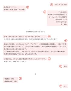 添え状_サンプル