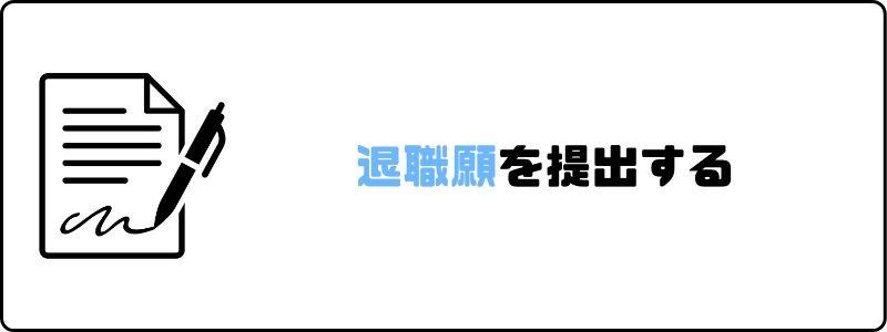 円満退社_退職願_提出