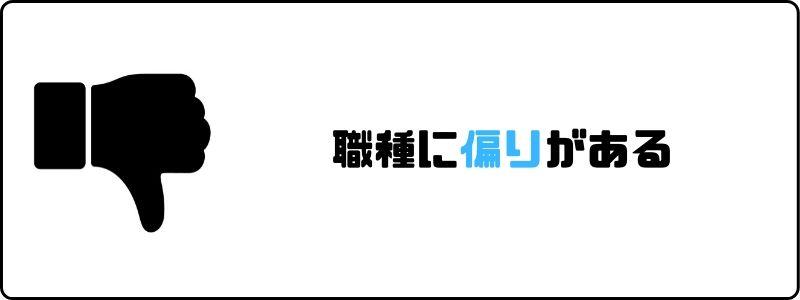 リブズキャリア_偏り